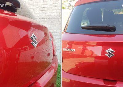 Suzuki-Swift-Big-Dent-on-Hatch-3