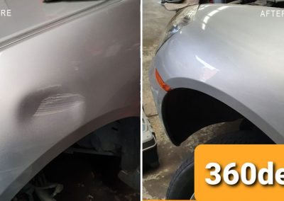 Another-bulky-dent-repair-on-front-guard