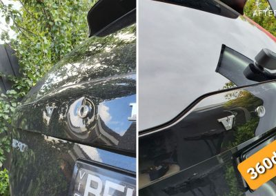 Brand-new-Volvo-multiple-dents-on-tailgate-on-site-repaired-by-360dents