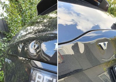 Brand-new-Volvo-multiple-dents-on-tailgate-on-site-repaired-by-360dents-2