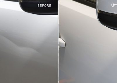 Crease-dent-repaired-on-Audi-Q5-at-customer's-workplace