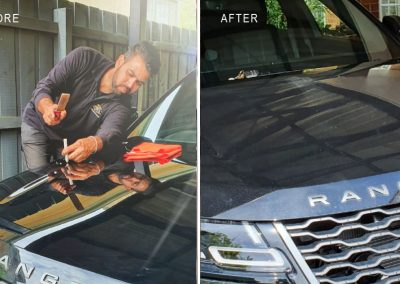 Hail-dents-repaired-on-2018-Range-Rover-(on-site-repair)-2