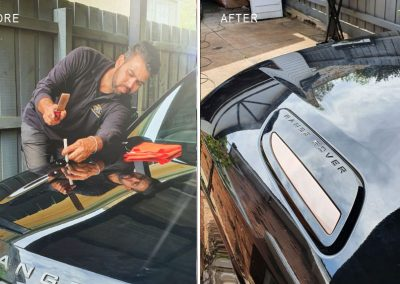 Hail-dents-repaired-on-2018-Range-Rover-(on-site-repair)